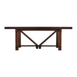Stanley Modern Craftsman Saddle Breadmakers Gathering Table -
