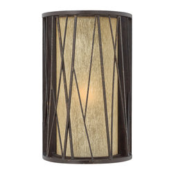 Hinkley Lighting - Elm Wall Outdoor - So warm and welcoming, you'll want a lot of these outdoor light treatments surrounding your home. The detailing, the etched amber glass and the long lovely column will enhance and add a sculptural touch to your space. Tempted to try them inside lining your hallway?