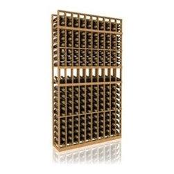 7' Ten Column Display Wood Wine Rack - The 7' Ten Column Display Wood Wine Rack is part of our 7' Series.