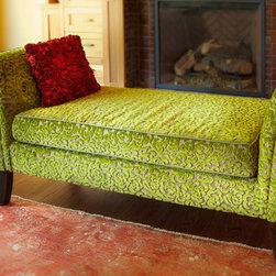 CHERRY HILLS VILLAGE LIVING ROOM BENCH - Photos by Joel Cohen