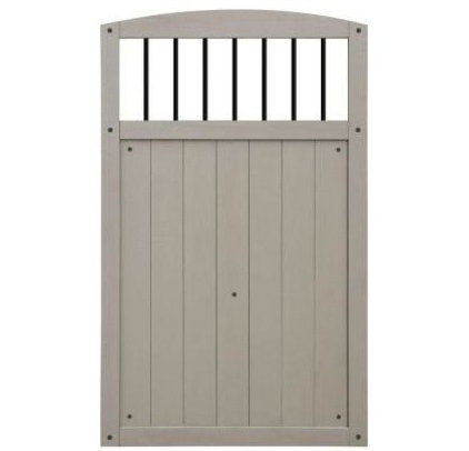 Contemporary Fencing by Home Depot
