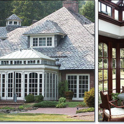 Hipped Roof Carriage House Orangery Conservatory -
