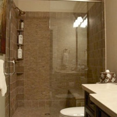 traditional bathroom by Veranda Estate Homes &amp; Interiors