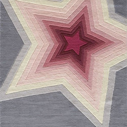 Momeni - Kids Lil Mo Hipster 2'x3' Rectangle Superstar Area Rug - The Lil Mo Hipster area rug Collection offers an affordable assortment of Kids stylings. Lil Mo Hipster features a blend of natural Superstar color. Hand Tufted of 100% Mod-Acrylic the Lil Mo Hipster Collection is an intriguing compliment to any decor.