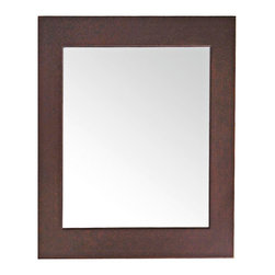 """Lamps Plus - Contemporary Avanity 22"""" Wide Dark Walnut Frame Wall Mirror - Add a chic and modern accent to your home with this wood frame wall mirror. The smooth solid birch frame features mottled dark walnut finish. The non-beveled mirror will complement both formal and casually styled rooms. Solid birch wood frame. Dark walnut finish. 22"""" wide. 30"""" high. Glass only is 17 1/4"""" wide and 25 1/4"""" high. Cleat on back for easy hanging. Hang weight is 18 lbs.  Solid birch wood frame.   Dark walnut finish.    22"""" wide.   30"""" high.   Glass only is 17 1/4"""" wide and 25 1/4"""" high.   Cleat on back for easy hanging.  Hang weight is 18 lbs."""