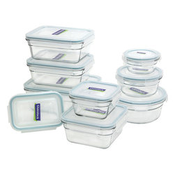 Glasslock 18pc Oven Safe Box Set - Includes
