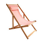 Gallant & Jones - Tra an Doilin Deck Chair - Deck chair with Fabric Sling and Pillow