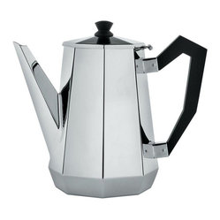 "Alessi ""Ottagonale"" Coffee Pot"