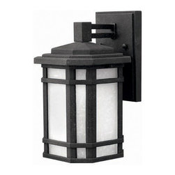 Hinkley Lighting - Hinkley Lighting 1270VK Cherry Creek Vintage Black Outdoor Wall Sconce - Hinkley Lighting 1270VK Cherry Creek Vintage Black Outdoor Wall Sconce