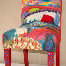 Eclectic Chairs by Dorothy Fagan Collection