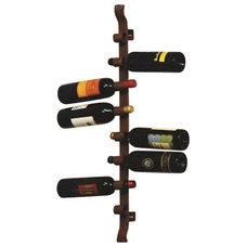 Rustic Wine Racks by Silver Nest