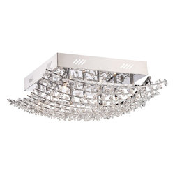 Quoizel - Quoizel QZ-VLA1618C - Breathtaking and gorgeous….is what best describes the Valla Collection from the Platinum Division with the intricate crystal details and Polished Chrome finish.  Sleek and sophisticated it is sure to give any room the sparkle it deserves.