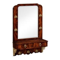 Jonathan Charles - New Jonathan Charles Hall Mirror, Mahogany - Product Details