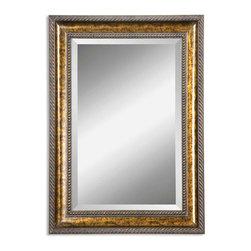 Uttermost - Uttermost 14157 B Sinatra Gold Vanity Mirror - Uttermost 14157 B Sinatra Gold Vanity Mirror