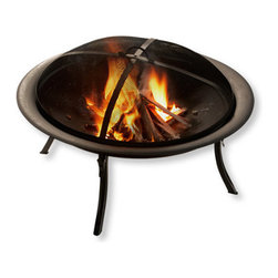 Portable Campfire Pit - What's camping without a campfire? This portable campfire pit is easy to pack and set up outside your tent. Don't forget the marshmallows!