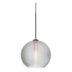 Besa Lighting - Besa Lighting XP-461500-LED Kristall 1 Light LED Mini Pendant - Features: