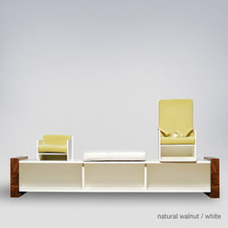 ducduc the table bench - Available in 2 or 3 seater version.