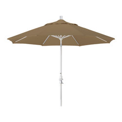 California Umbrella - 9 Foot Sunbrella Aluminum Crank Lift Collar Tilt Market Umbrella, Sand Pole - California Umbrella, Inc. has been producing high quality patio umbrellas and frames for over 50-years. The California Umbrella trademark is immediately recognized for its standard in engineering and innovation among all brands in the United States. As a leader in the industry, they strive to provide you with products and service that will satisfy even the most demanding consumers.