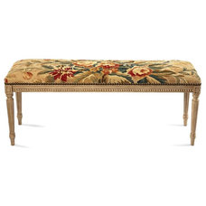 Traditional Bedroom Benches by Pierre Deux -- CLOSED