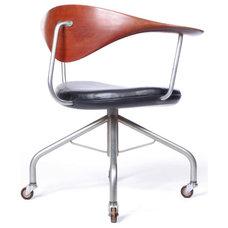 the Swivel Chair by Hans Wegner cabinetmaker Johannes Hansen at 1stdibs