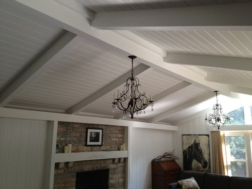 need lighting fixture help for cathedral ceilings. Black Bedroom Furniture Sets. Home Design Ideas