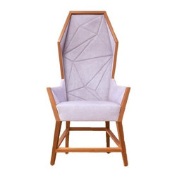 Purcell Living - Purcell Living | Bias Hooded High Back Lounge Chair - Design by Alexander Purcell Rodrigues.