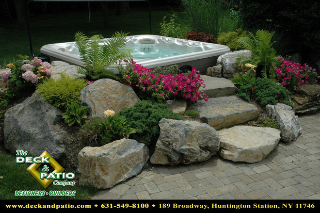 """Traditional Deck by Deck and Patio Company """"Outdoor Living Experts"""""""