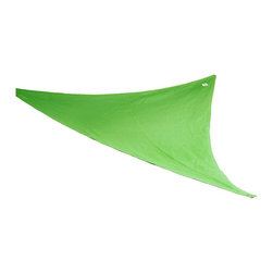 "Coolaroo - ""Coolaroo Party Sail 9' x 10"""" Triangle"" - ""Party Sail 9' x 10"""" Triangle, Green""""Provides up to 90% UV blockUnique knitted fabric allows the cover to breath reducing temperatures underneath by one thirdResists mold and mildewEasy to cleanPerfect for indoor and outdoor activitiesNeed more information on this product? Click here to ask."""
