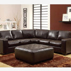 Beckham Pit Sectional Contemporary Sectional Sofas