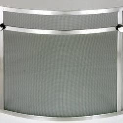 Silver Custom Fire Screens -