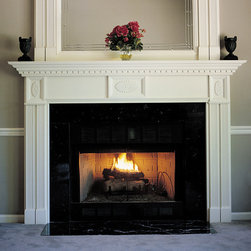 Farmington Wood Fireplace Mantel - The Farmington is a classic mantel, perfect for any traditional home decor. Available in four wood choices and a variety of finishes, you'll love this little piece of Americana in your home.