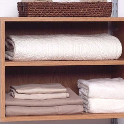 Homestar - Homestar 2 Shelf Closet Organizer - Native Oak Multicolor - ST105857KK - Shop for Closet from Hayneedle.com! The Homestar 2 Shelf Closet Organizer - Native Oak is a handsome storage solution for your home or office. Use its 2 sturdy shelves for garments towels photo albums and more. The possibilities are endless with this durable native oak laminate organizer. Measures 23W x 15D x 16H inches and can be stacked or hanged from a wall. About Homestar CorporationFor the past decade Homestar Corporation has specialized in wooden and metal household furniture and continues to expand their product categories most recently into home appliances and housewares. With 50 product lines they design manufacture and ship traditional to modern furniture throughout the world. Their designs are innovative and on trend targeted for every market and price point. They are continuously striving to improve quality meeting or exceeding global safety standards while maintaining an eco-friendly company philosophy. Homestar Corporation s goal is to provide everything you need to improve your lifestyle and home decor and to be your one-stop shop for home furnishing.