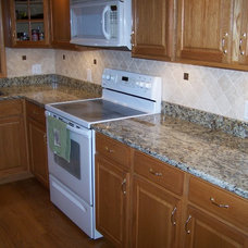 Contemporary Kitchen Countertops by The Granite Shop