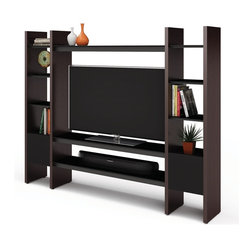BDI - Semblance Home Theater Package 5423TC - BDI's Semblance Home Theater Package isn't just an entertainment center. It is a modular media display and storage system. As your needs change and grow the system can be modified to meet them.