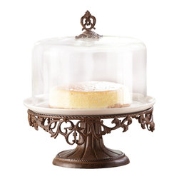 "SPI - Classic Cake Stand - -Size: 15"" H x 13"" W x 13"" D"
