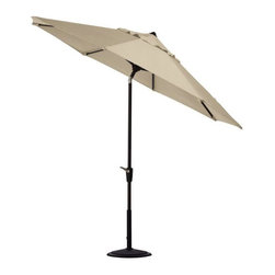 Home Decorators Collection - Home Decorators Collection Patio Umbrellas 11 ft. Auto-Tilt Patio Umbrella in - Shop for Outdoor Patio Furniture at The Home Depot. Get just the right amount of shade with our 11 ft. Auto Tilt Market Patio Umbrella. Its numerous tilt positions allow you to choose the amount of shade you want by simply turning the crank handle. Our canopies come in a variety of colors to match any outdoor decor.