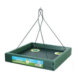 Woodlink - Going Green Platform Feeder - Going Green Platform Feeder. The World is Going Green! Help restore the environment choose recycled products!