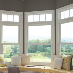 Window World Double-hung Windows - Window World's double-hung windows combine form and function, bringing easy maintenance and classic style to your home.