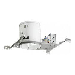 """Juno Lighting - PL613EU 6"""" Non-IC New Construction Housing - 13W Vertical CFL - Housing only. Trim and bulb sold separately."""