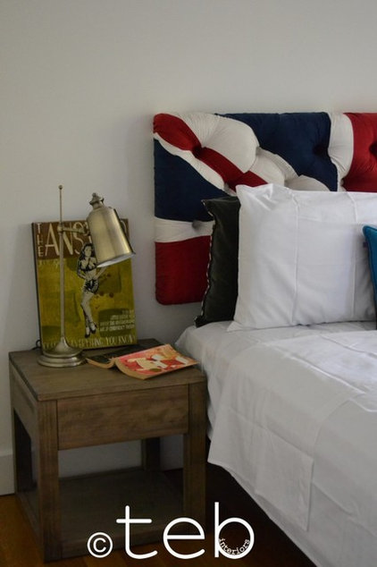 Eclectic Headboards by teb Interiors