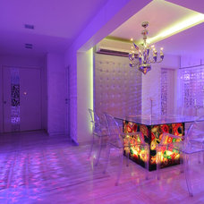 eclectic dining room by Sonali shah