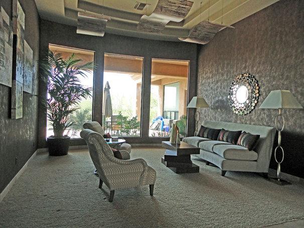 Contemporary Living Room by S Interior Design