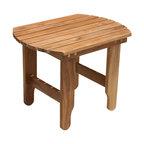 Douglas Nance - Douglas Nance Adirondack Side Table - Teak side table designed for use with any style Douglas Nance adirondack chair, or anywhere else you please.