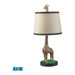 Dimond Lighting - Dimond Lighting Jerry Table Lamp in Gloss - LED Offering Up To 800 Lumens - Table Lamp in Gloss - LED Offering Up To 800 Lumens belongs to Jerry Collection by Dimond Lighting Table Lamp (1)