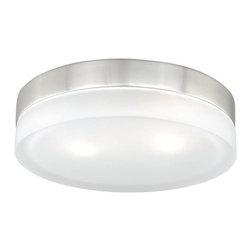 Vaxcel Lighting - Vaxcel Lighting CC56811SN Loft Contemporary Flush Mount Ceiling Light - Vaxcel Lighting CC56811SN Loft Contemporary Flush Mount Ceiling Light