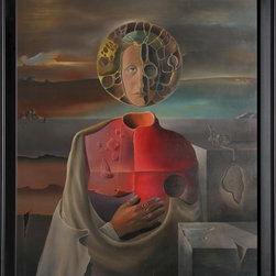R.J. Soto, Surrealist Portrait, Oil Painting - Artist:  R.J. Soto