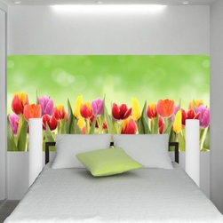 Wall Pops Wall Pops Flowers Self-Adhesive Wall Decal - About WallPopsModern wall decor doesn't come easier – or more stylish – than it does from WallPops. With their designer products featuring bright colors, fun patterns, and unique accents, WallPops is quickly becoming the world's leader in fashionable peel-and-stick wall decals. Their high quality and versatile products are always repositionable and removable, making them safe for walls – in your living room, the kitchen, the kid's room, or a college dorm. WallPops products come with a wealth of sophisticated decor; from contemporary to classic and funky to functional, there's certainly a WallPops wall art product to suit any palate. WallPops is manufactured by Brewster Home Fashions, based in Randolph, Mass. Brewster is a fifth-generation, family-owned and operated company founded in 1954.
