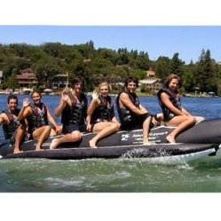 Whale Ride Commercial In-Line Elite Class Banana Boat - 6 Person - A whale of a way to carry up ...