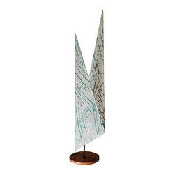 Studio Eight - Contemporary Modern Sculpture, BLOSSOM PATH VII, by H.E. Scarborough, 2014. - BLOSSOM PATH VII.