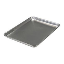 Nordic Ware Bakers Half Sheet - I'll admit that there's nothing too terribly exciting about baking sheets, but if you're in the market for new ones, these high-rimmed baker half sheets are really useful. Their versatility lends itself to everything from baking bacon (no grease spills!) to your favorite batch of cookies.